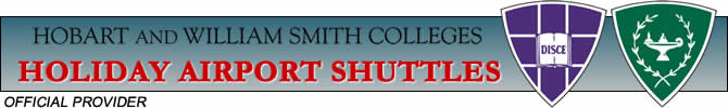 Hobart and William Smith Colleges Campus Shuttles Official Provider